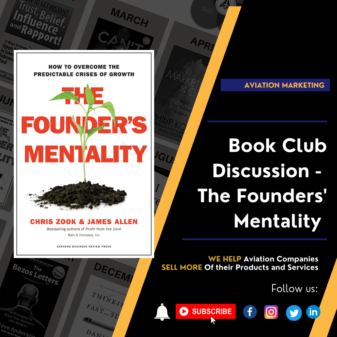 Book Club Discussion - The Founders' Mentality