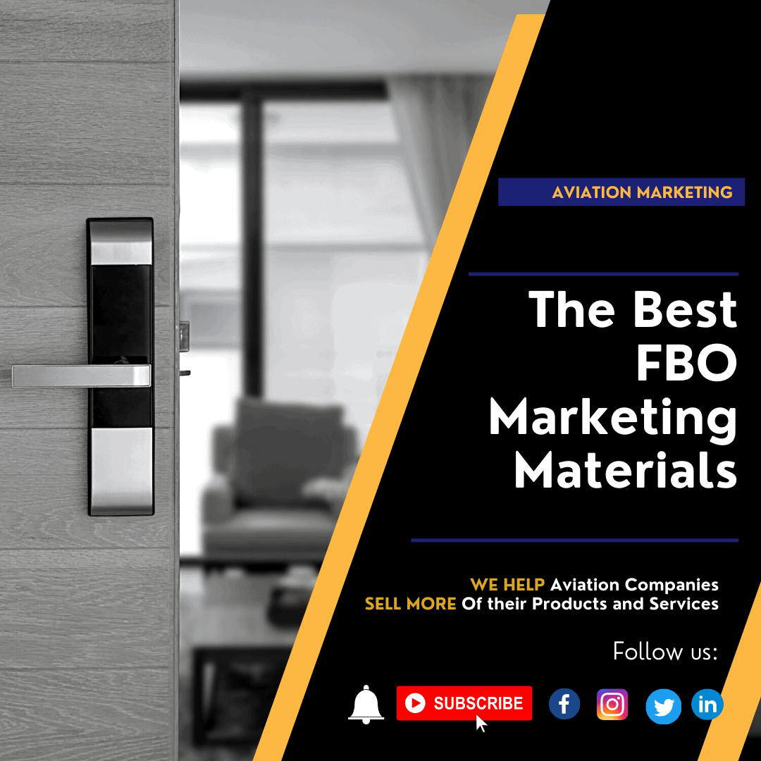 The Best FBO Marketing Materials