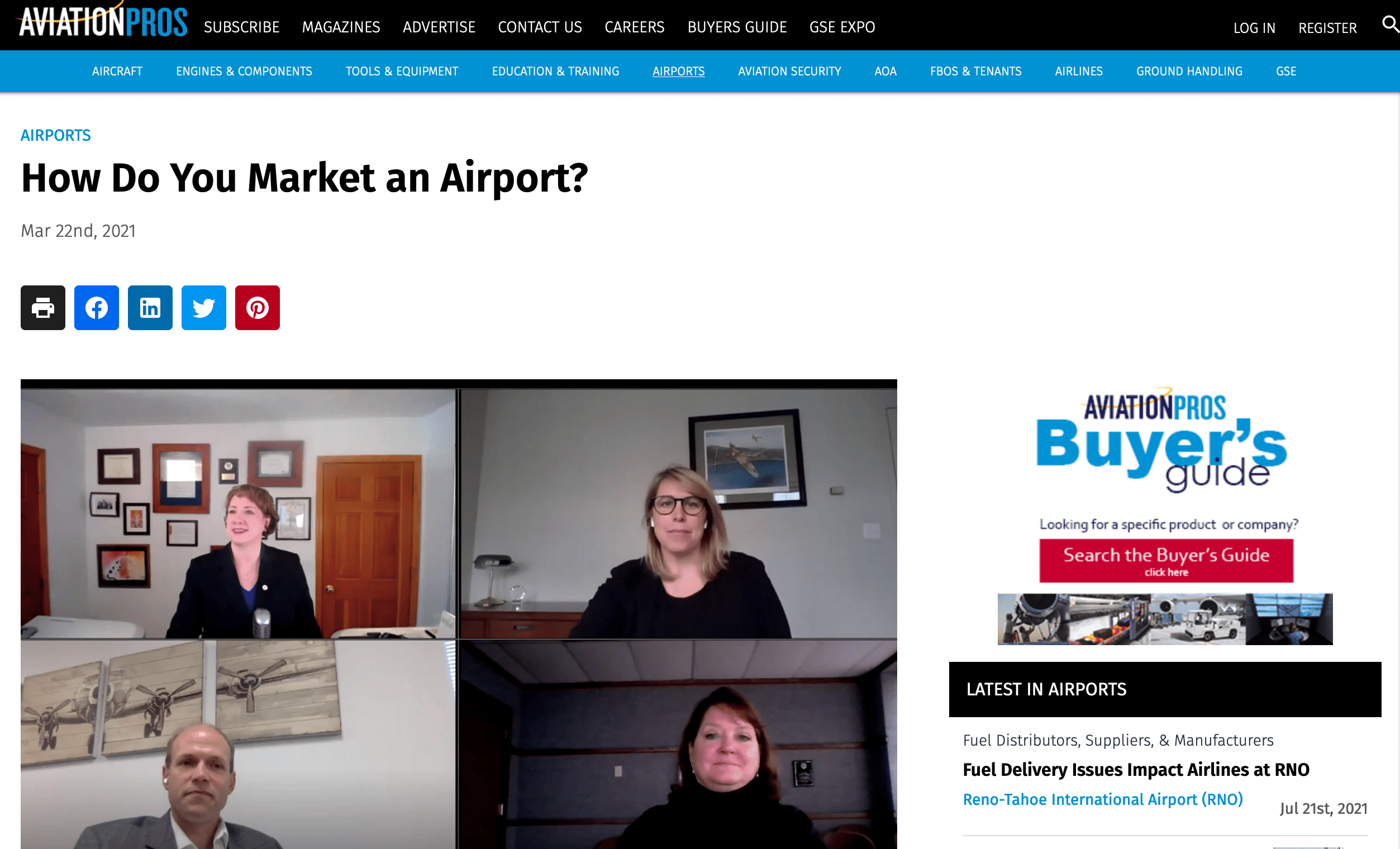 Aviation Pros - How to Market an Airport