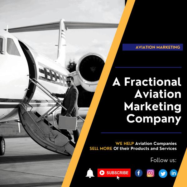 A Fractional Aviation Marketing Company