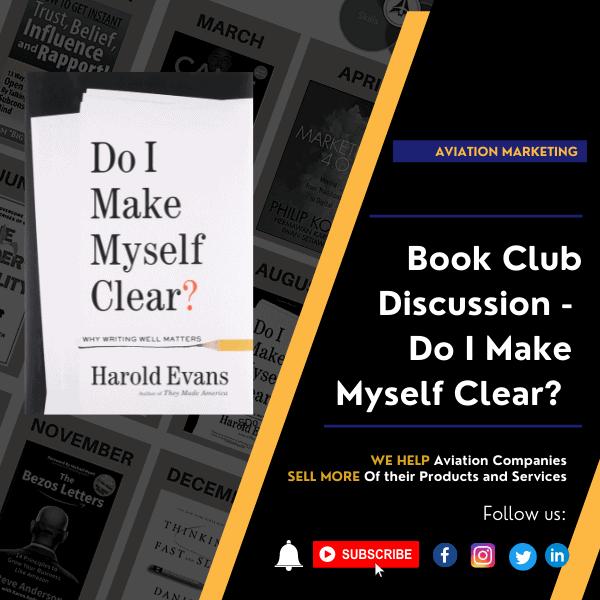 Book Club Discussion - Do I Make Myself Clear?