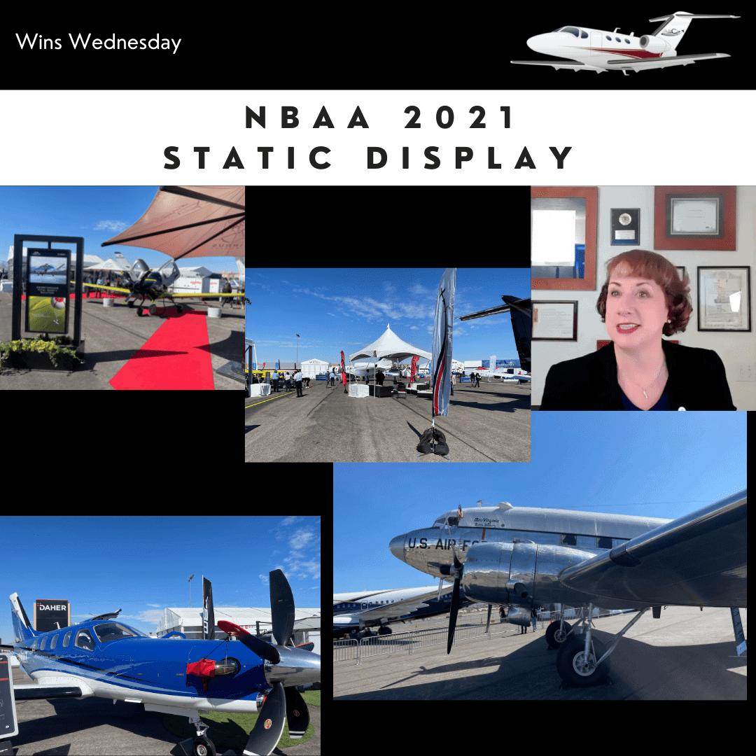 NBAA 2021 Static Display Highlights